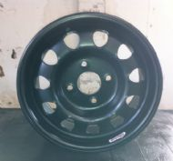 "Black Weller Wheel - 6x13"" - 108x4 PCD"